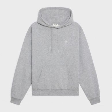 """CELINE Loose """"Triomphe"""" Sweatshirt In Cotton And Cashmere"""