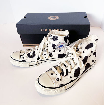 CONVERSE ALL STAR Casual Style Unisex Other Animal Patterns Low-Top Sneakers