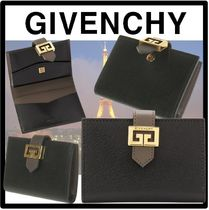 GIVENCHY Street Style Logo Card Holders