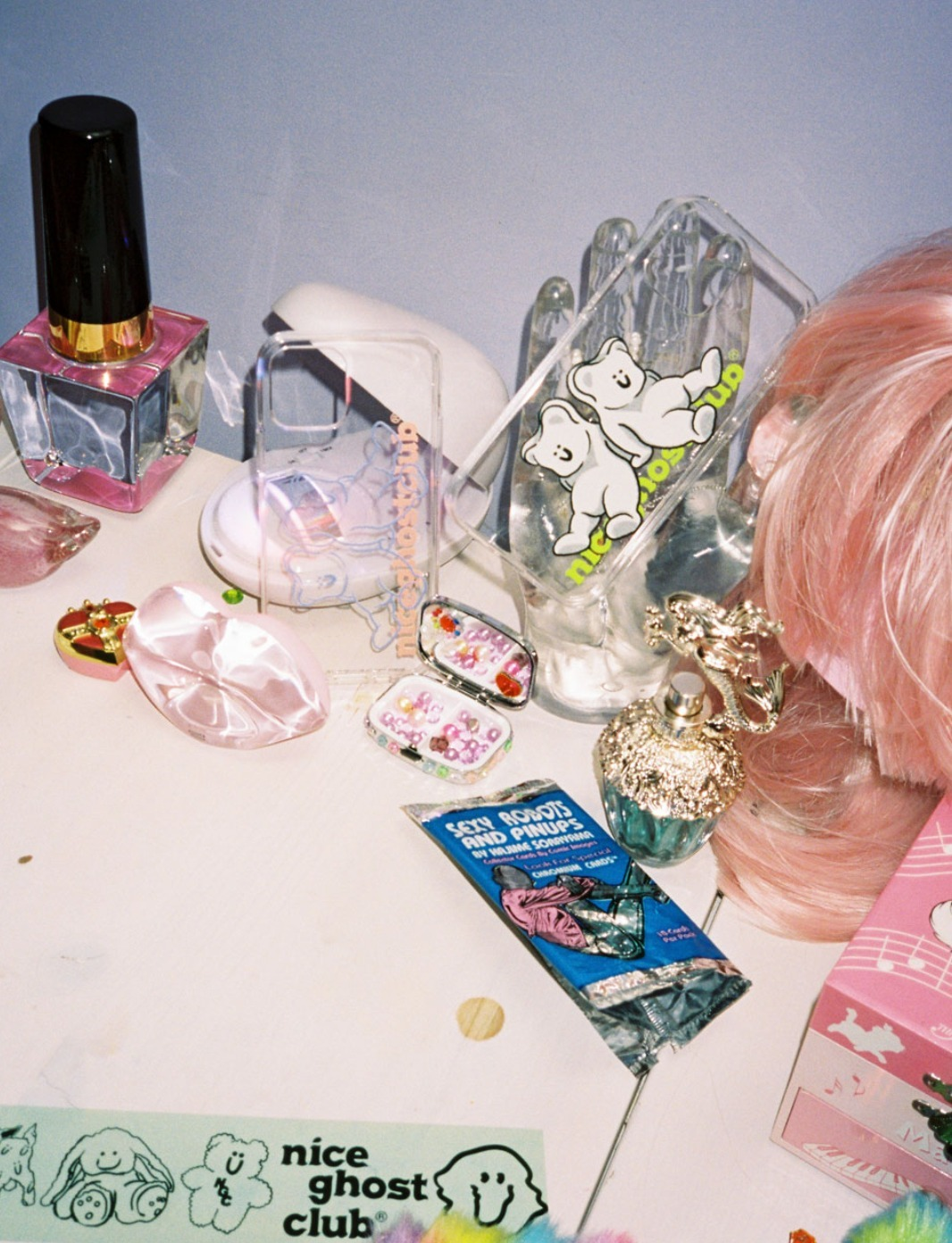 shop nice ghost club accessories