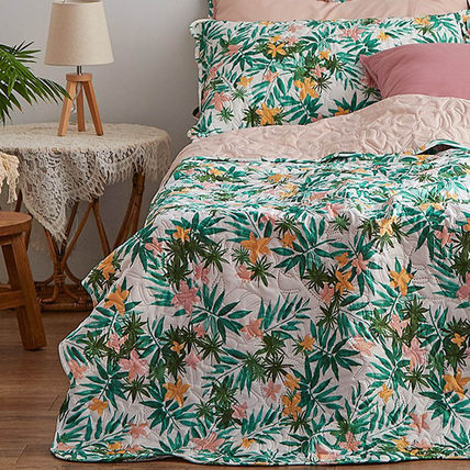 ARPEGGIO BASIC Flower Patterns Unisex Pillowcases Comforter Covers Co-ord