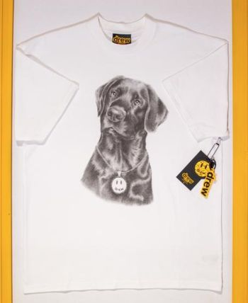 drew house More T-Shirts Unisex Street Style Collaboration T-Shirts 3