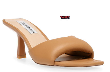 Formal Style  Rubber Sole Casual Style Studded Leather