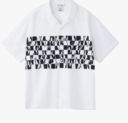 X-girl Short Sleeves Street Style Shirts & Blouses