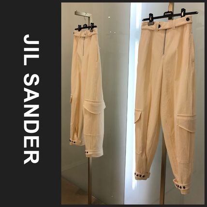 Jil Sander Casual Style Plain Long Sarouel Pants
