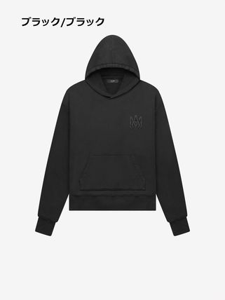 AMIRI Pullovers Sweat Street Style Long Sleeves Cotton Hoodies