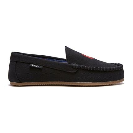 POLO RALPH LAUREN Logo Driving Shoes Moccasin Loafers & Slip-ons