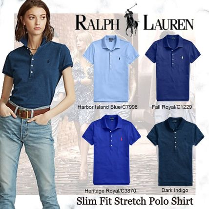 Ralph Lauren Formal Style  Logo Casual Style Plain Cotton Medium