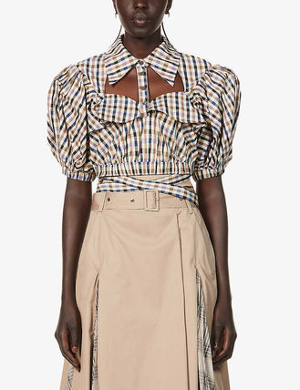 Other Plaid Patterns Casual Style Street Style Cotton