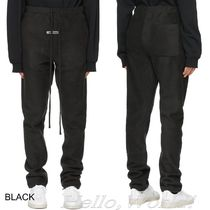 FEAR OF GOD ESSENTIALS Blended Fabrics Street Style Plain Co-ord Shearling Logo