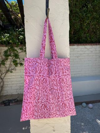 Monogram Casual Style A4 2WAY Elegant Style Totes