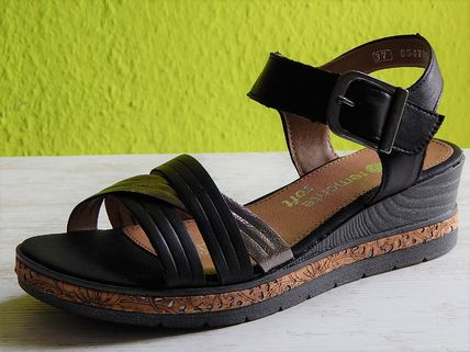 Casual Style Leather Platform & Wedge Sandals