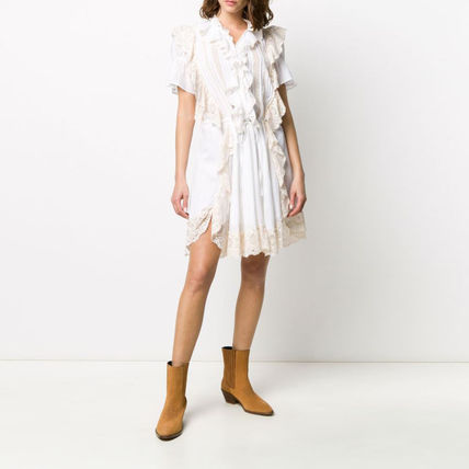 ZADIG & VOLTAIRE Dresses Casual Style Chiffon Medium Party Style Office Style 3