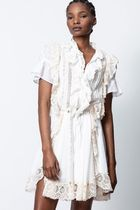 ZADIG & VOLTAIRE Dresses Casual Style Chiffon Medium Party Style Office Style 6