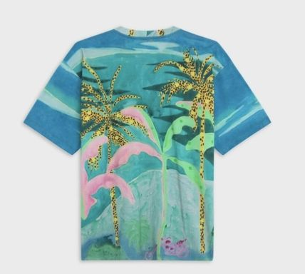 Loose T-Shirt In Cotton With Artist Print