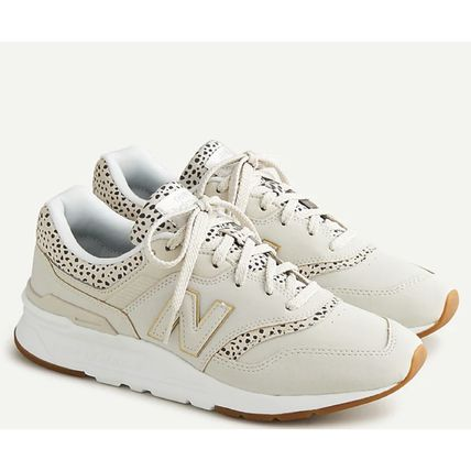 New Balance 997 Casual Style Street Style Logo Low-Top Sneakers