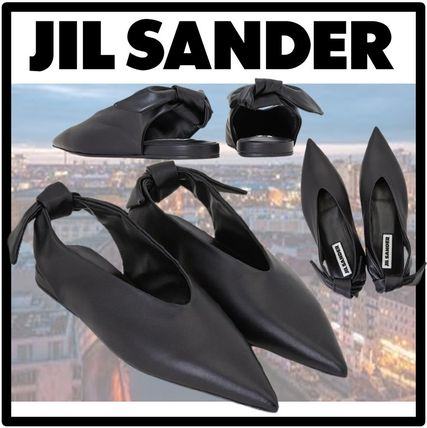 Jil Sander Casual Style Street Style Flats