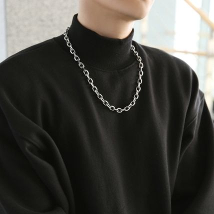 HOLY IN CODE Necklaces & Chokers Unisex Street Style Logo Necklaces & Chokers 3