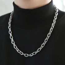HOLY IN CODE Necklaces & Chokers Unisex Street Style Logo Necklaces & Chokers 4