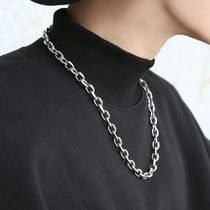HOLY IN CODE Necklaces & Chokers Unisex Street Style Logo Necklaces & Chokers 5