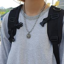 HOLY IN CODE Necklaces & Chokers Unisex Street Style Logo Necklaces & Chokers 10