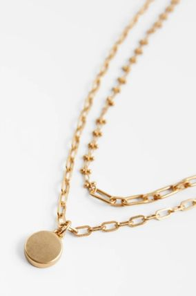 ZARA Casual Style Unisex Coin Street Style Chain Party Style