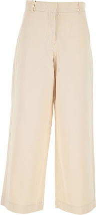 Weekend Max Mara Casual Style Street Style Plain Cotton Long Short Length