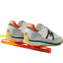 KARHU Low-Top Plain Toe Rubber Sole Casual Style Street Style Leather 5