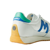 KARHU Low-Top Plain Toe Rubber Sole Casual Style Street Style Leather 8