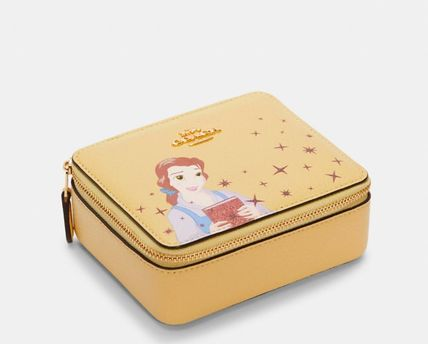 Coach Disney X Coach Large Jewelry Box With Belle