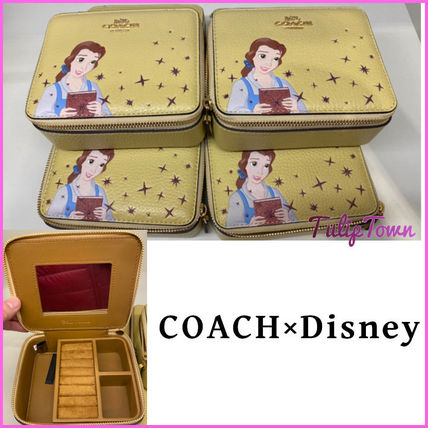 Coach Casual Style Collaboration Leather Accessories