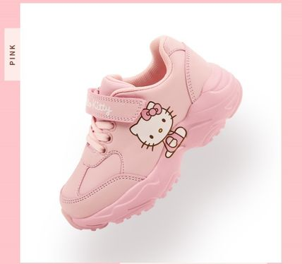 Unisex Street Style Collaboration Kids Girl Sneakers