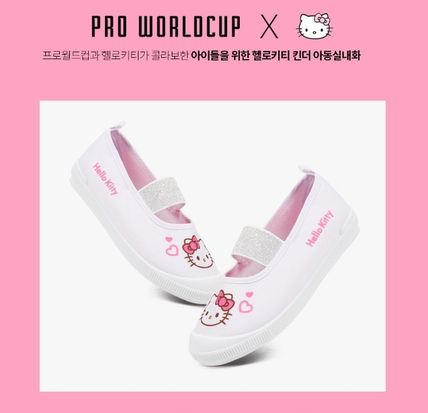 Unisex Street Style Collaboration Kids Girl Shoes