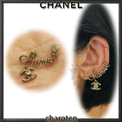 CHANEL ICON Costume Jewelry Casual Style Unisex Party Style Office Style