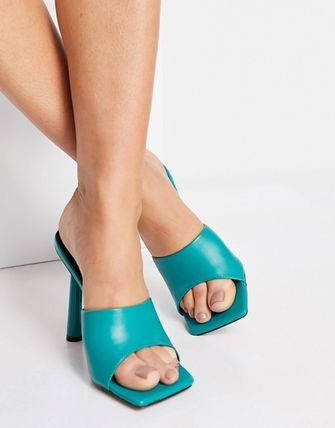 Mules Open Toe Casual Style Party Style Elegant Style