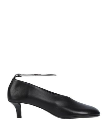 Jil Sander Round Toe Casual Style Plain Leather Party Style