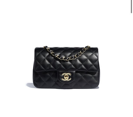 CHANEL MATELASSE Casual Style 2WAY Leather Party Style Elegant Style