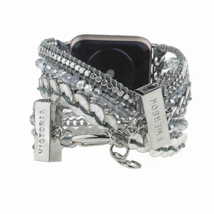 Victoria Emerson Casual Style Unisex Street Style Chain Leather Party Style
