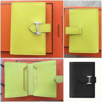 HERMES Leather Card Holders