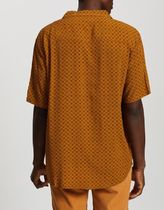 STUSSY Shirts Button-down Flower Patterns Street Style Short Sleeves 4