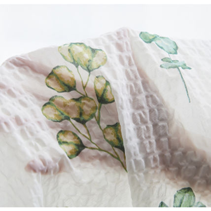 AIRE Flower Patterns Unisex Pillowcases Comforter Covers Co-ord