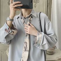 Long Sleeves Plain Front Button Shirts