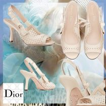 Christian Dior Open Toe Casual Style Street Style Party Style Office Style