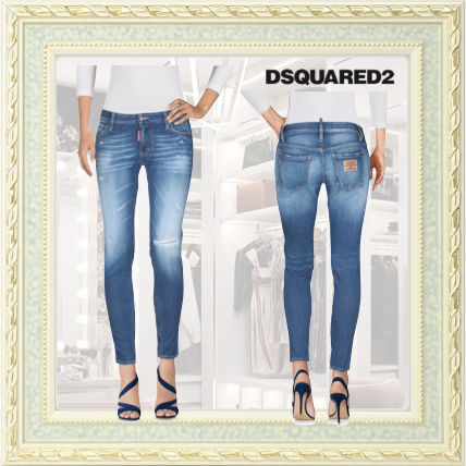 D SQUARED2 Street Style Skinny Jeans
