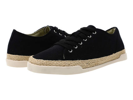 Round Toe Rubber Sole Casual Style Street Style Plain