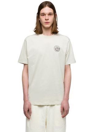 Unisex Plain Cotton Logo Designers T-Shirts