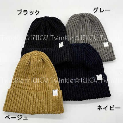 Ron Herman Unisex Blended Fabrics Street Style Knit Hats
