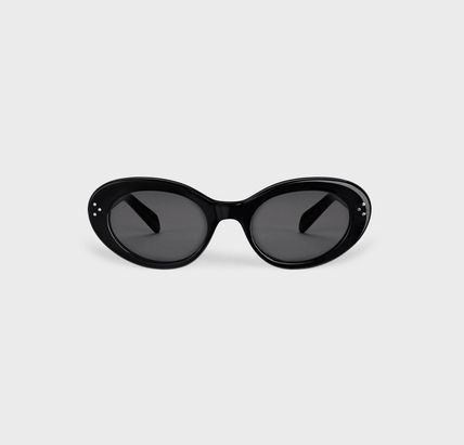 CELINE Street Style Cat Eye Glasses Icy Color Sunglasses