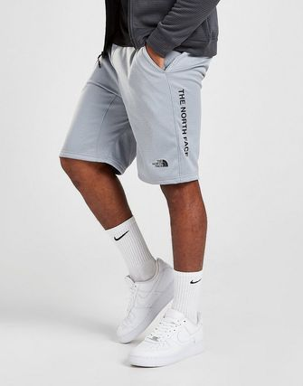 THE NORTH FACE Logo Sweat Bi-color Street Style Joggers Shorts