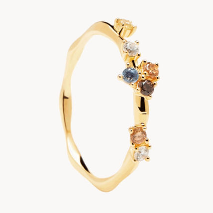 Casual Style Office Style Elegant Style Rings